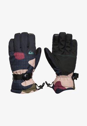 Gloves - grape leaf giant camo