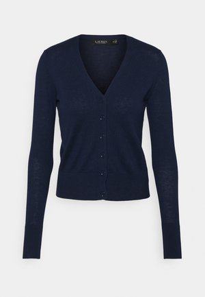 DENZEL LONG SLEEVE - Cardigan - french navy