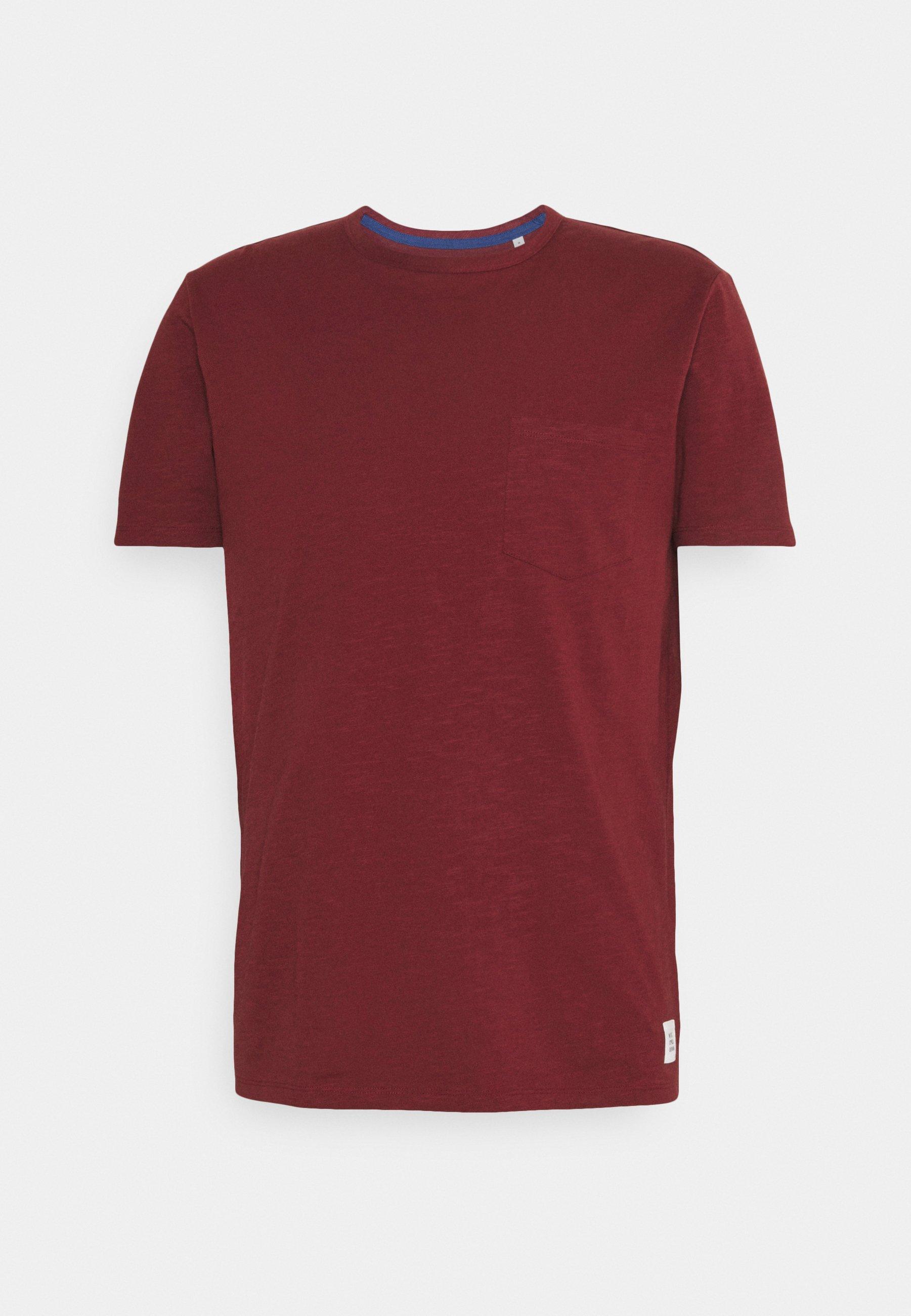 Men SHORT SLEEVE NECK BINDING - Basic T-shirt