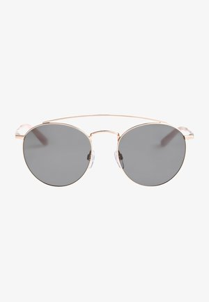 Sonnenbrille - shiny rose gold/grey