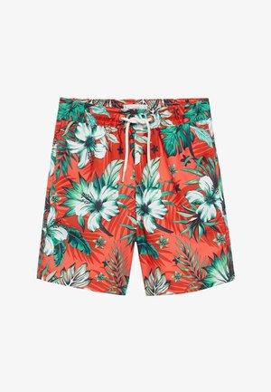 LUKAS - Swimming shorts - korallrot