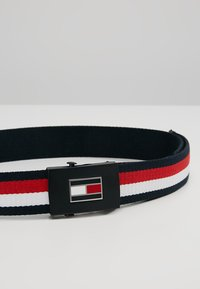 Tommy Hilfiger - CORP REVERSIBLE BELT - Pasek - navy - 2