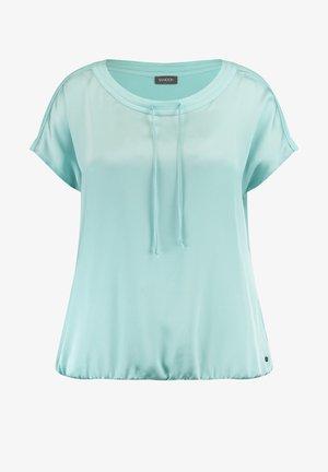 T-shirt basic - crystal blue