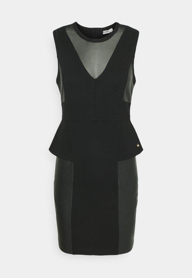 LOPA - Vestido de tubo - black