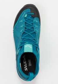 Salewa - ALPENVIOLET GTX - Climbing shoes - malta/lagoon green - 1