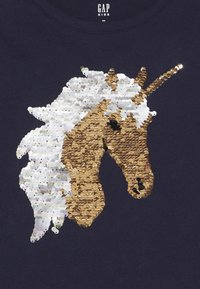 GAP - GIRL - T-shirts print - navy uniform - 3
