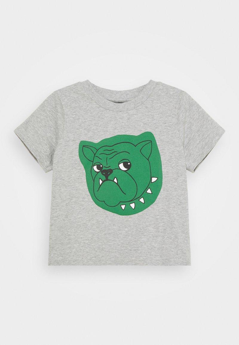 Mini Rodini - BABY BULLDOG TEE UNISEX - Print T-shirt - grey melange