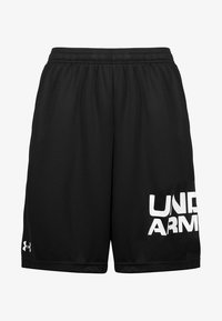 Under Armour - TECH WORDMARK SHORTS - Korte broeken - black - 0