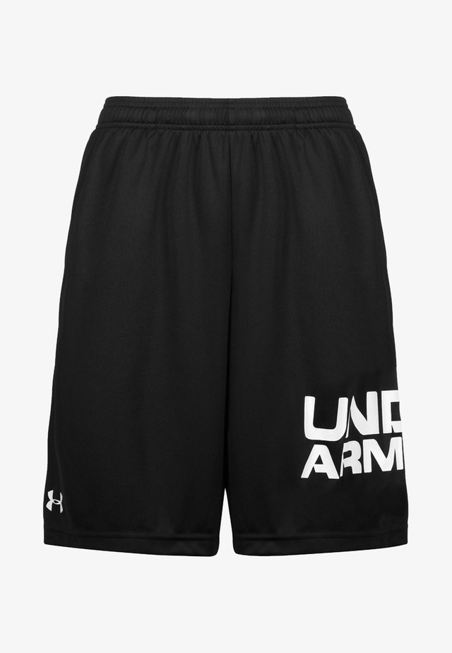 TECH WORDMARK SHORTS - Sports shorts - black