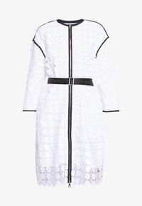 KARL LAGERFELD - CIRCLE COAT - Zimní kabát - white - 6