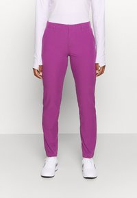 Under Armour - LINKS PANT - Kalhoty - baltic plum - 0