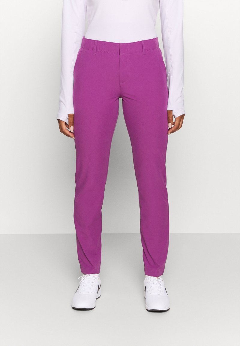 Under Armour - LINKS PANT - Kalhoty - baltic plum