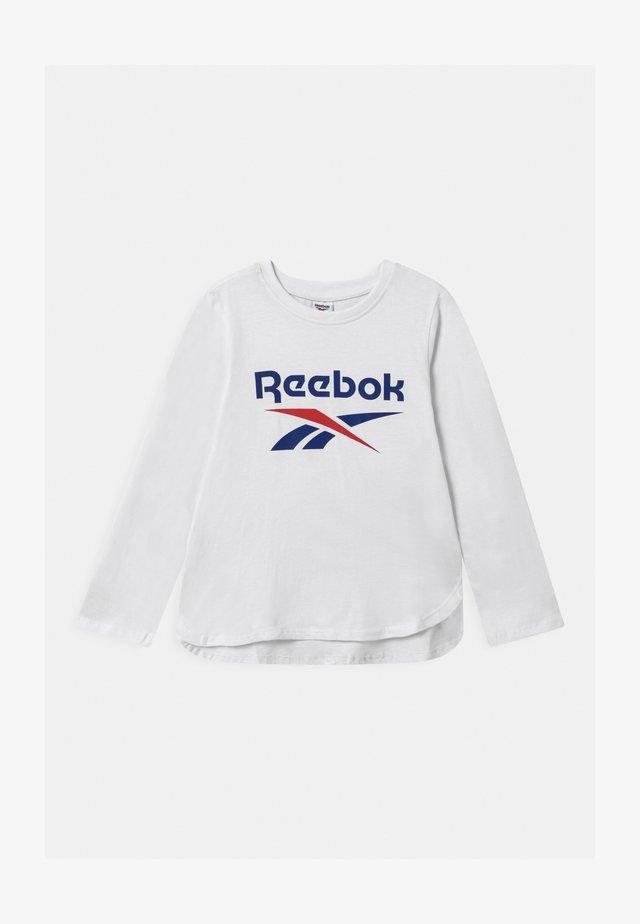 CLASSIC - Camiseta de manga larga - white