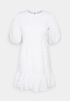 LORICA DRESS - Day dress - plain white