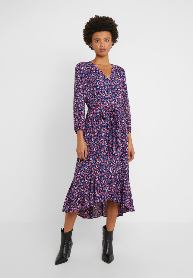 FLORAL RAMEA DRESS - Vestido informal - navy/pink