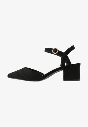 WIDE FIT SAMIRA - Classic heels - black