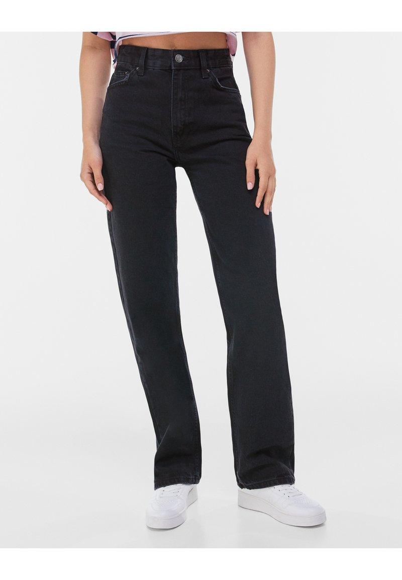 Bershka - Jeans a sigaretta - black