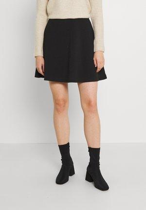 ONLSCARLETT SHORT SKIRT - Minifalda - black