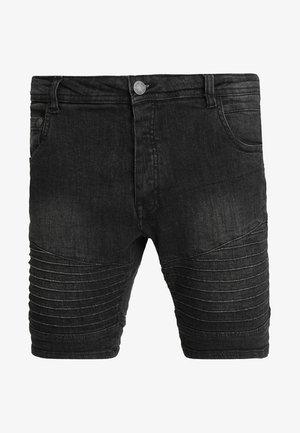 Denim shorts - grey wash