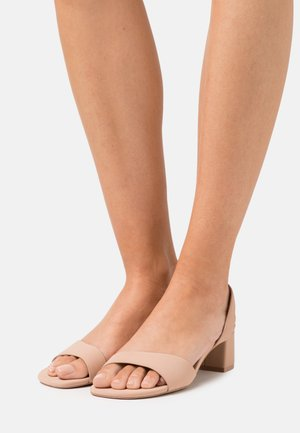 ECHO - Sandals - dark beige