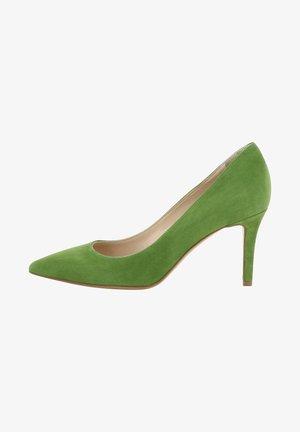 EMANUELA - High heels - green
