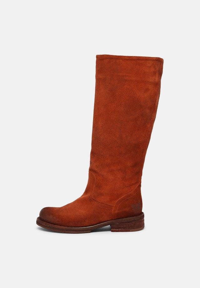COOPER - Vysoká obuv - celtic rust