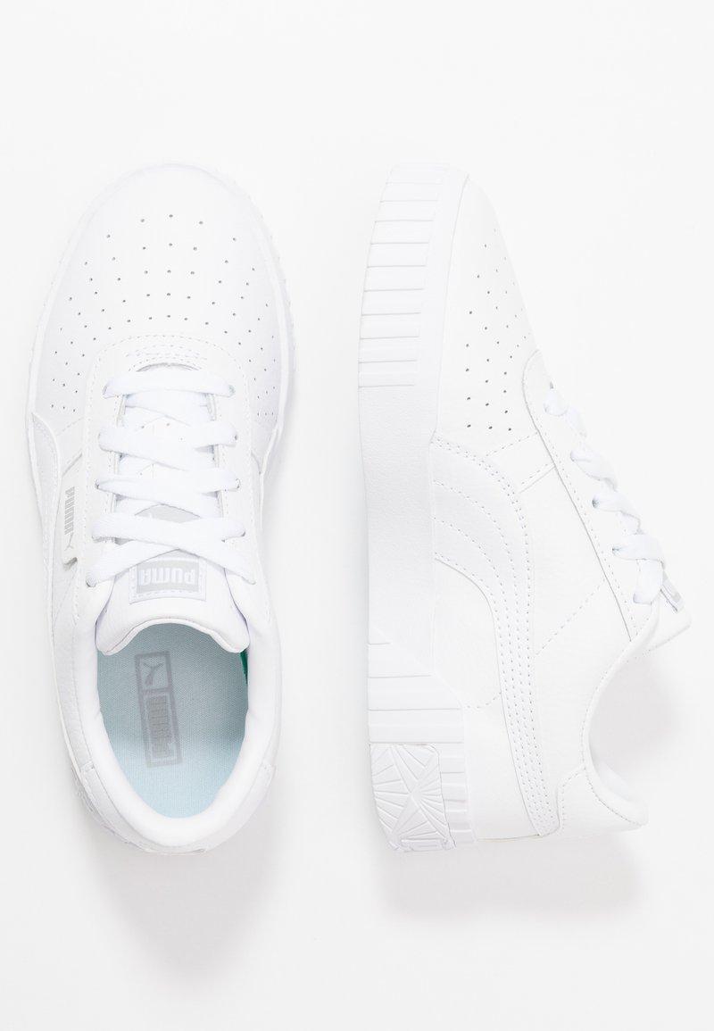 Puma - CALI - Trainers - white/high rise