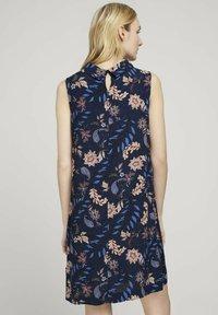 TOM TAILOR - Day dress - navy floral design - 2