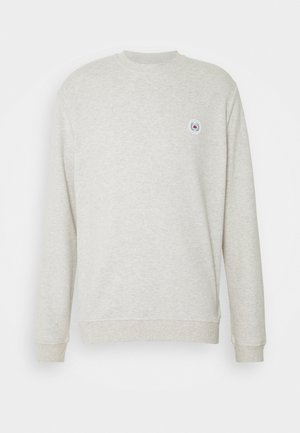 OUR BRAXY PATCH CREW - Sweatshirt - snow melange