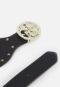 Guess - BELT MIKA NOT ADJUS SOFT WAIST BELT - Midjebelte - black/gold-coloured - 2