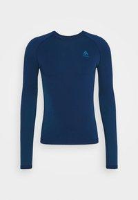 ODLO - PERFORMANCE WARM ECO CREW NECK - Unterhemd/-shirt - estate blue/atomic blue - 3