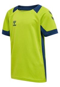 Hummel - Print T-shirt - lime punch - 2