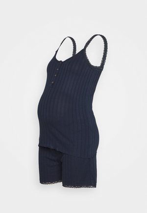 MLCHILI LIA SHORT SET - Pyjamas - navy blazer