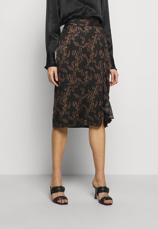 TREE VIOLIS SKIRT - A-line skirt - black