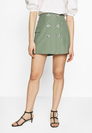JUST THE SAME SKIRT - A-Linien-Rock - green