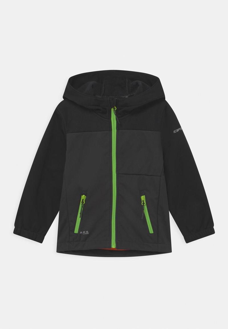 Icepeak - KARS UNISEX - Soft shell jacket - grey
