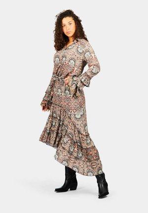 MECA - Pleated skirt - multicoloured