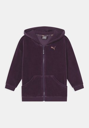 ALPHA UNISEX - Zip-up sweatshirt - sweet grape