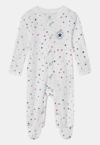 Converse - FOOTED COVERALL RUFFLE FOOT - Pyjamas - white - 0