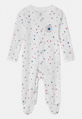 FOOTED COVERALL RUFFLE FOOT