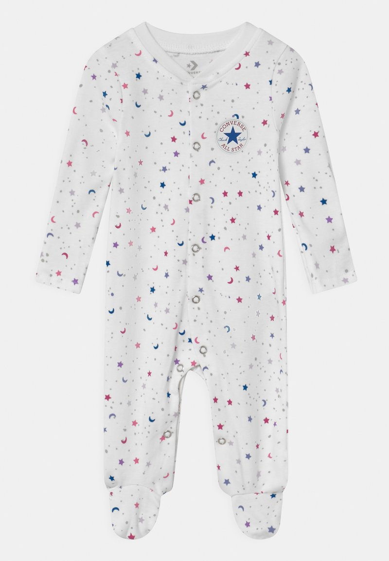 Converse - FOOTED COVERALL RUFFLE FOOT - Pyjamas - white