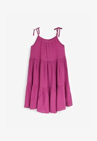 Next - TIERED  - Day dress - purple - 0