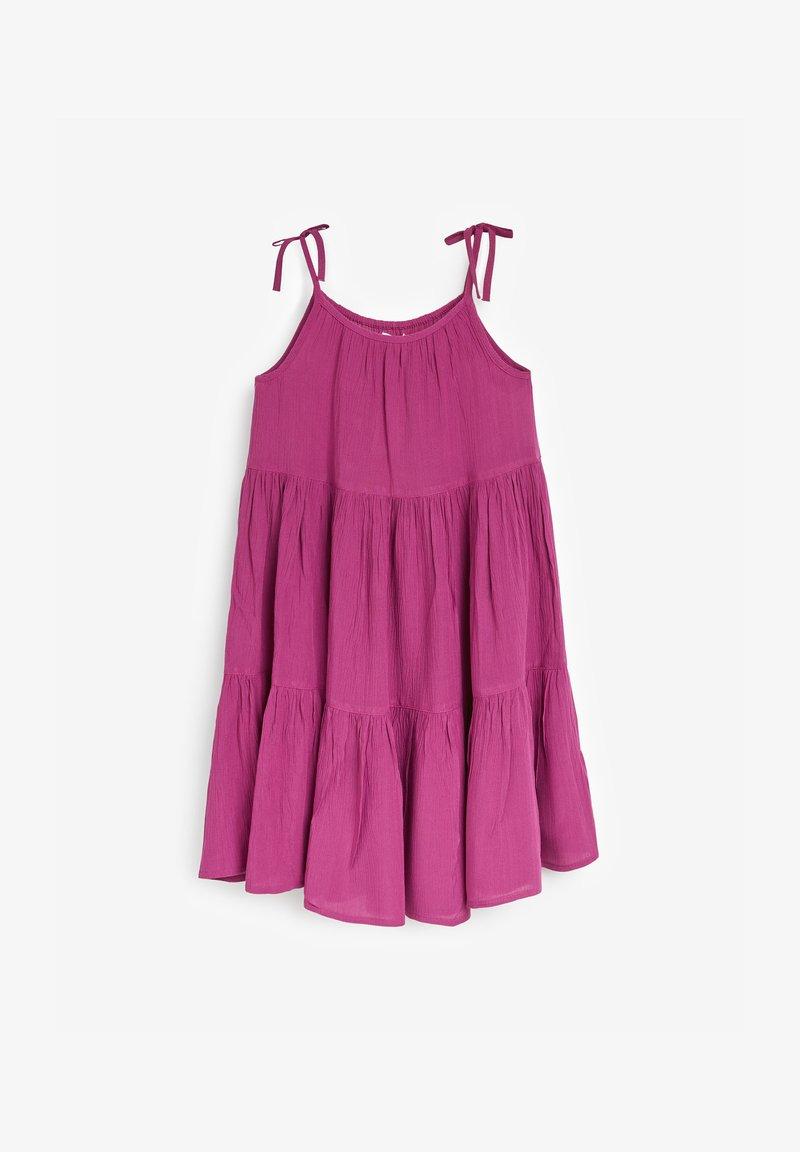 Next - TIERED  - Day dress - purple