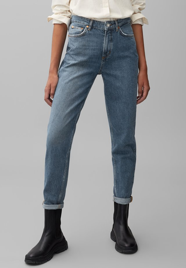 MALA  - Slim fit jeans - mid authentic wash