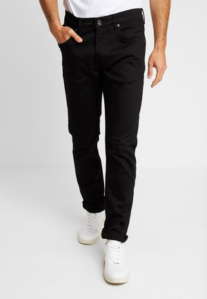 NO CLEAN - Straight leg jeans - black
