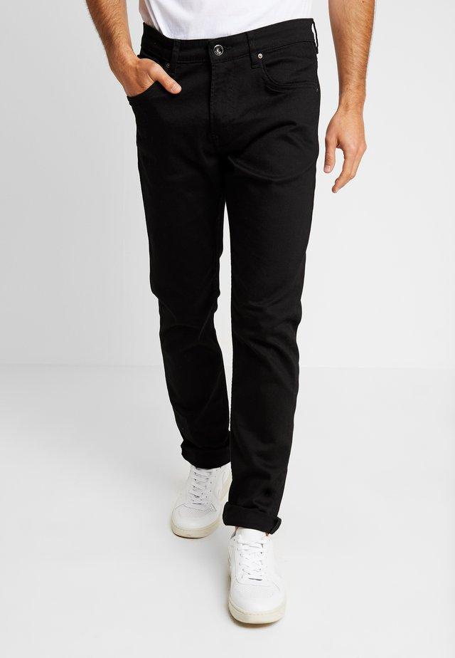 NO CLEAN - Straight leg jeans - black