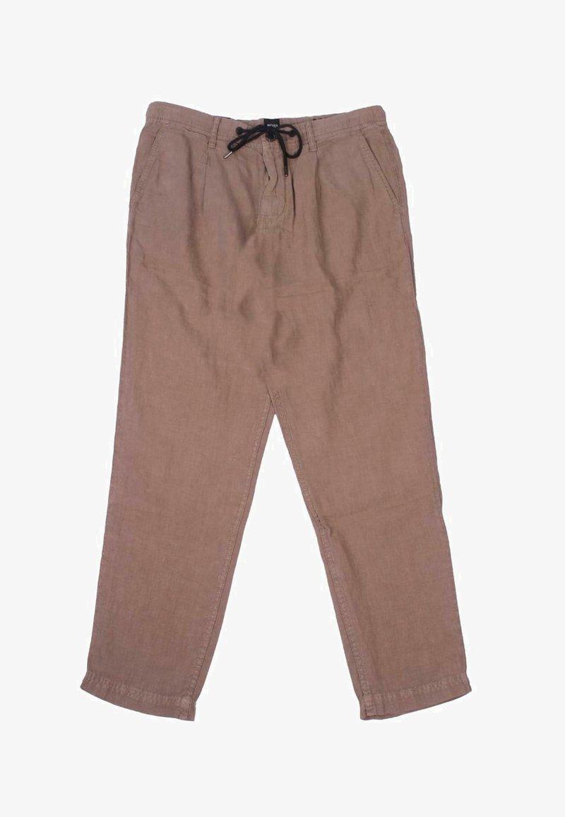 BOSS - SYMON - Trousers - brown