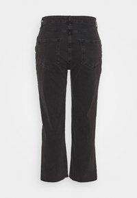 Cotton On Curve - MILLIE - Straight leg jeans - black - 1