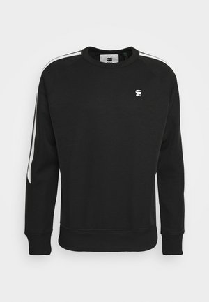 SIDE STRIPE CREW - Sweatshirt - raven