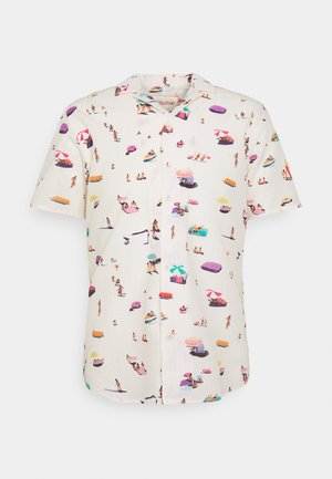 SHORT SLEEVED CUBAN - Camicia - offwhite